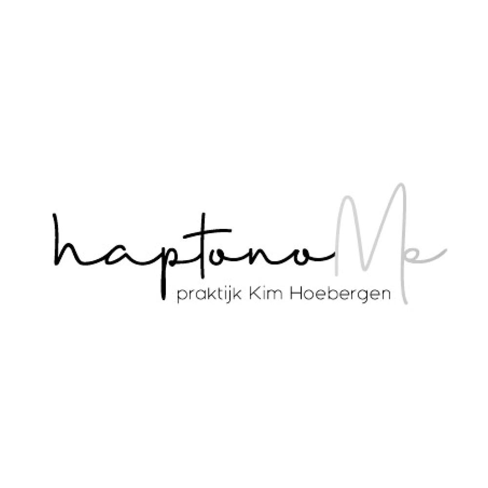 Logo HaptonoMe Evelien foto en ontwerp